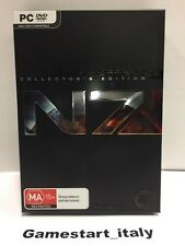 MASS EFFECT 3 N7 COLLECTORS EDITION PC - NEW RARE NUOVO RARO
