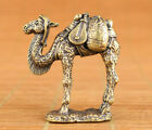 Rare chinese bronze hand carving camel statue figure collection netsuke