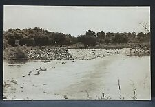 1943 real photo postcard.Parkersburg, Iowa.Beaver Meadow Dam.and today?