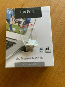 Elgato Eyetv Go TV Tuner DTT Stick For Mac & PC