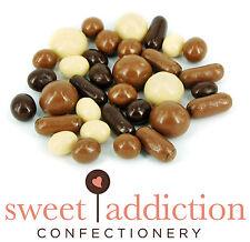 1kg Premium White Milk and Dark Chocolate Covered TV Mix - Assorted Choc Sweets