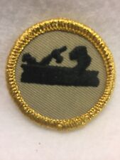 Boy Scouts -  Merit Badge -  CARPENTRY    (2010 remake with gold mylar trim)