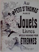 METAL WALL PLAQUE / SIGN  VINTAGE STYLE AU PETIT ST THOMAS PARIS