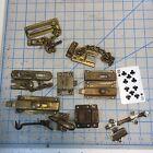 Lot Vintage Cabinet Door Bolt Locks Keepers Knobs Deadbolt Slide Lock Latch