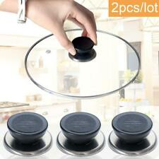 2pcs Pot Pan Lid Cover Round Holding Knob Screw Handle Cookware Replacement UK