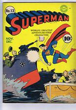 Superman #13 DC 1941