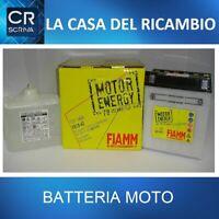 FB14-A2 BATTERIA MOTO FIAMM MOTOR ENERGY YUASA YB14-A2 14Ah 150A + LIQUIDO