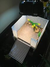 Large Turtle Tower : Turtle Basking Platform : Turtle Dock : Reptile Platform