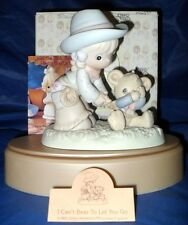 """RETIRED PRECIOUS MOMENTS   """"I CAN'T BEAR TO LET YOU GO""""   ~NIB~   $75.00 VALUE"""