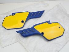 Kawasaki KX80 KX80-L2 KX100 Frame Side Cover Set L/R 36001-1396 / 36001-1397 NOS