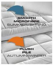 Odyssey Reversible Queen Mattress Topper Pillow Top Protector 850GSM Cover Pad