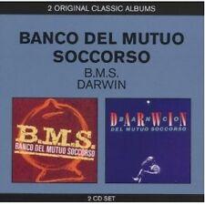 BANCO DEL MUTUO SOCCORSO - CLASSIC ALBUMS (2IN1-B.M.S. & DARWIN)  2 CD  NEW+