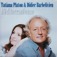 Didier Barbelivien & Tatiana Platon - Méditerranéenne [ CD SINGLE PROMO ]