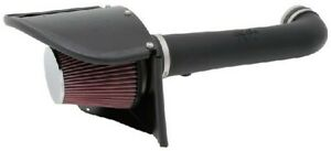 K&N 63-1566 63 Series AirCharger Intake fits Jeep Wrangler 3.6L V6 2012-17