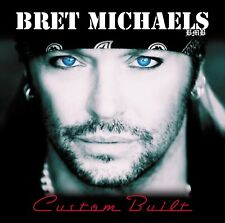 Custom Built by Bret Michaels Music CD 2010 Poison Rock Metal Band Compilation