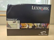 Genuine Lexmark T650H21A High Yield Print Cartridge Black For T650 T652 T654 New