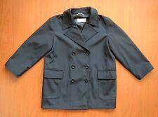 MAXMARA Women's Black Trench Coat UK 10 Waterresistent