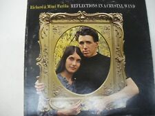 Richard & Mimi Farina   Reflections in a Crystal Wind  LP