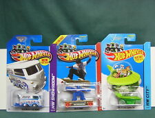 HOT WHEELS LOT of 3 JETSON'S CAPSULE CAR, SKATE PUNK,KOMBI