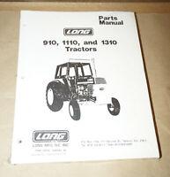 1976 Long Models 910 1110 & 1310 Tractors Parts Manual P/N 756116