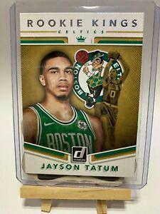 (PLEASE READ) Jayson Tatum 2017-18 NBA Panini Donruss Optic Rookie Kings #3
