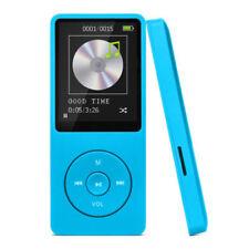 Reproductores de MP3 azul con 8 GB de almacenamiento