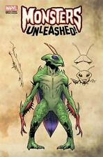 Monsters Unleashed #2, Greg Land Wrap Around Variant, NM 9.4, 1st Print, 2017