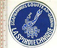 SCUBA Diving France La Spirotechnique Scaphandre Cousteau-Gagnan Female Diver Wh