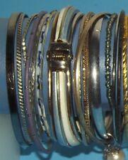 50 Bracelets Banjos Metal Plastic Clip On Wood Jewelry Mixed Multa Colors Lot