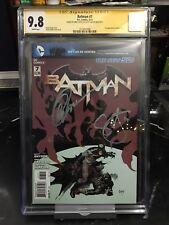 DC Comics Batman 7 CGC SS 9.8 Signed 2x Scott Snyder Greg Capullo 1st Harper Row