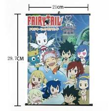 Hot Japan Anime Fairy Tail Cute Natsu Whole Art Home Decor Poster Wall Scroll