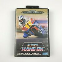 Super Hang-On Ozisoft | Sega Mega Drive | Good Cond | Missing Manual