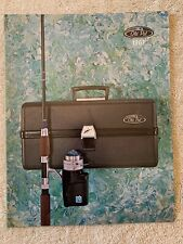 VINTAGE OLD PAL FISHING TACKLE DEALER CATALOG - TACKLE BOXES WITH LIGHT UP MODEL