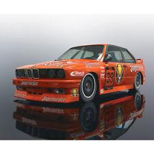Scalextric Slot Car C3899 en caja de las Naciones Unidas 1988 BMW M3 E30 Mario privado Dtm
