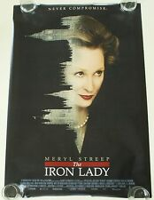 THE IRON LADY 27X40 DS MOVIE POSTER ONE SHEET NEW AUTHENTIC