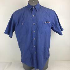 Polo Sport Ralph Lauren Size Medium Blue Work Shirt Button Down