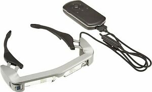 EPSON MOVERIO Smart Glasses Organic EL Panel Commercial Model BT-350 from JAPAN