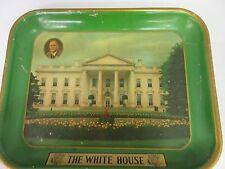Vintage Whitehouse Fdr Collectible Advertising Tray Tin Vintage M-882