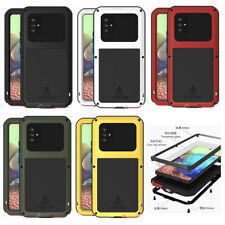 For Samsung Galaxy A71 5G, Shockproof Waterproof Gorilla Glass Metal Rugged Case