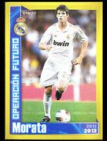2011 (Panini) Alvaro Morata Operacion Futuro No.196 Real Madrid-Rookie Rare HTF