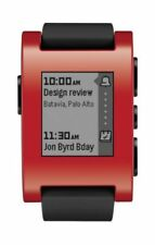 Relojes inteligentes rojos iOS - Apple con Bluetooth