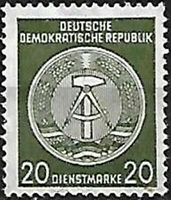 German Democratic Republic,Sc#O22a,MLH OG,XF,CV $700+.