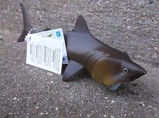New BASKING SHARK detailed sealife underwater marine model  toy  14 cm