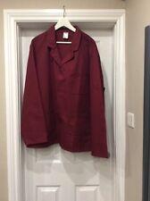 BNWT Alexandra W212 Wearhouse Mens boiler jacket in Red size 2XL (132cm)