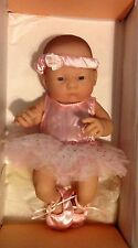 DOLL BALLET OUTFIT COSTUME MADE FOR 10 in TY KIDS SOLD WITH  BERENGUER BABY DOLL