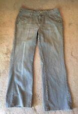 DKNY Petites Women's Gray BOHO Jean Size 12p