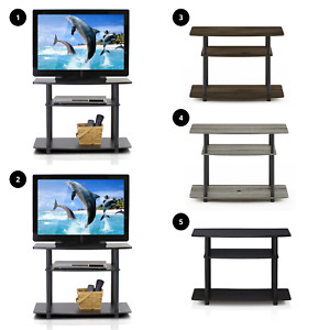 Furinno Turn-N-Tube No Tool 3-Tier TV Stands TV Stand Home Living Room Furniture