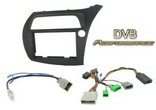 CTKHD01 Honda Civic 06-11 FN Type R Double Din Stereo Fitting Kit & stalk RHD