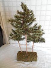 "Artificial pine trees Christmas decor, home decor 23"" tall"