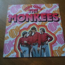 """Here Come The Monkees!"" Vinyl LP Greatest Hits (1983) Best Singles Collection"